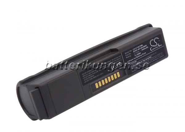 Batteri til Symbol WT4000 - 3.400 mAh