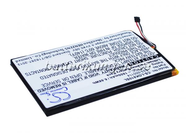 Batteri til Logitech IIIuminated Keyboard K810