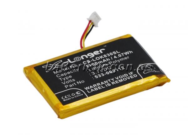Batteri til Logitech IIIuminated Living-Room Keyboard K830
