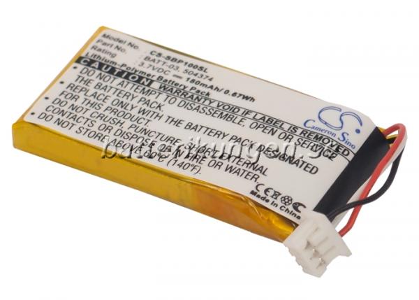 Batteri til Sennheiser OfficeRunner mfl