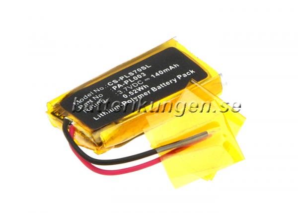 Batteri til Plantronics CS70 mfl - 140 mAh