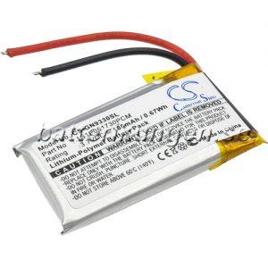 Batteri til GN GN9330 mfl - 180 mAh