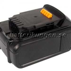 Batteri til Dewalt XR Li-Ion 18V mfl - 3.000 mAh