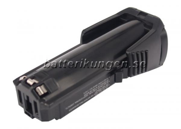 Batteri til Bosch GSR Mx2Drive mfl - 2.000 mAh