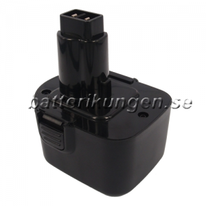 Batteri til Black & Decker CD1202GK mfl - 3.300 mAh