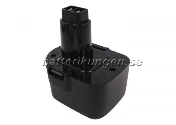 Batteri til Black & Decker CD1202GK mfl - 3.300 mAh