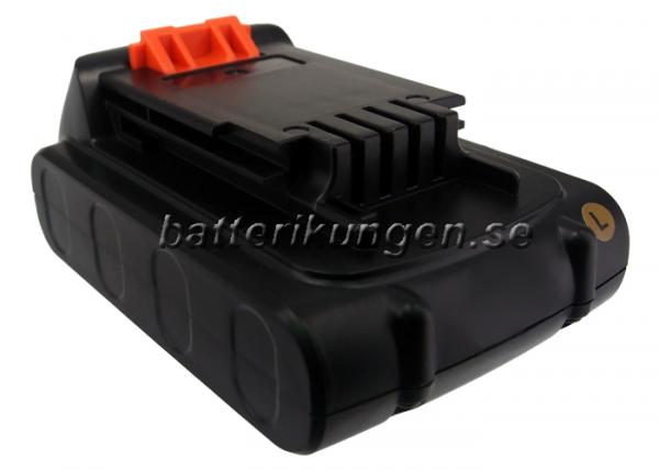 Batteri til Black & Decker BDCDMT120 mfl - 1.500 mAh