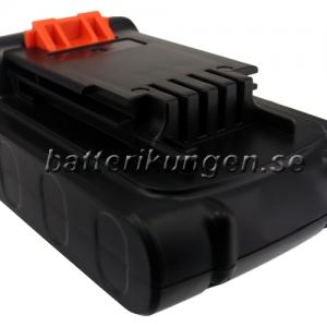 Batteri til Black & Decker BDCDMT120 mfl - 2.000 mAh