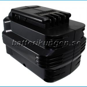 Batteri til Dewalt DC222KAmfl - 1.500 mAh
