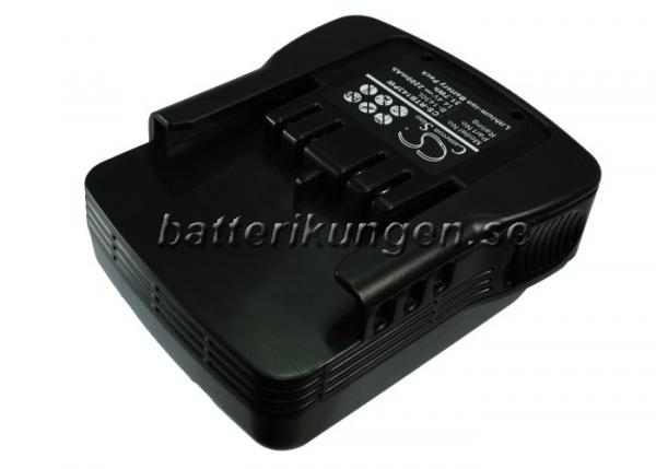 Batteri til Ryobi BIW-1465 mfl - 2.200 mAh