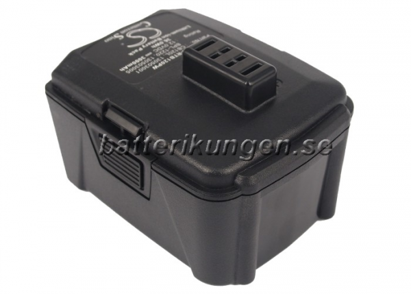 Batteri til Ryobi BID-1201 mfl - 3.000 mAh