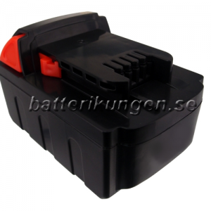 Batteri til Milwaukee M18 mfl - 4.000 mAh