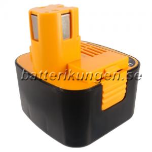 Batteri til Panasonic EY6107 mfl - 2.100 mAh