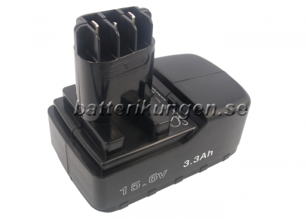Batteri til Metabo BS 15.6 plus mfl - 3.300 mAh