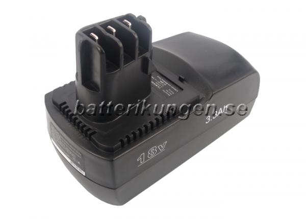 Batteri til Metabo BSZ 18 mfl - 3.300 mAh