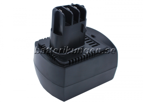 Batteri til Metabo BS 12 SP mfl - 3.000 mAh
