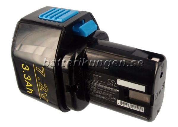 Batteri til Hitachi NR90GC2 mfl - 3.300 mAh