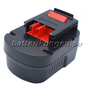 Batteri til Black & Decker HPB96 - 2.500 mAh