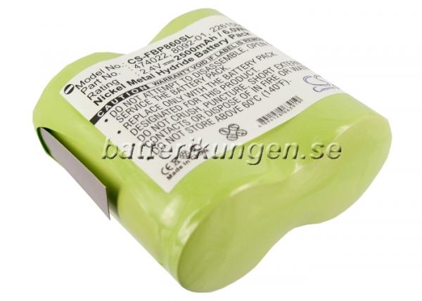 Batteri til Fluke 8010 mfl