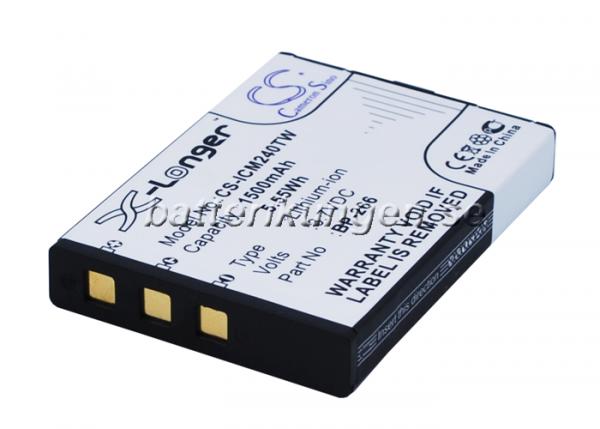 Batteri til Icom IC-M24 mfl - 1.500 mAh