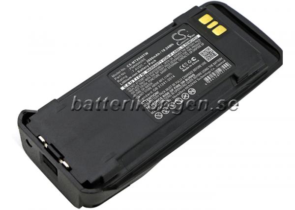 Batteri til Motorola DGP4150 mfl - 2.600 mAh