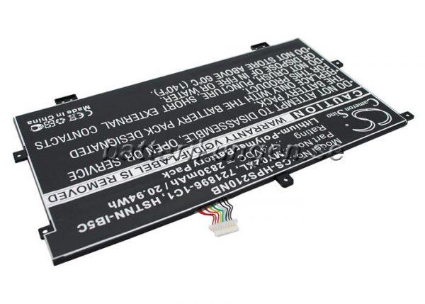 Batteri til HP Slatebook x2 mfl - 2.830 mAh