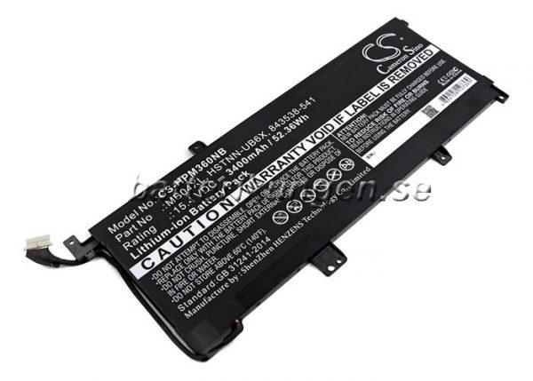 Batteri til HP Envy X360 M6 mfl - 3.400 mAh