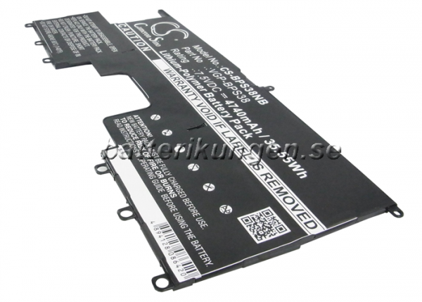 Batteri til Sony VAIO Pro 13 mfl - 4.740 mAh