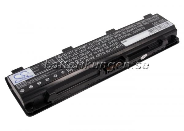 Batteri til Toshiba Satellite C800 mfl - 4.400 mAh