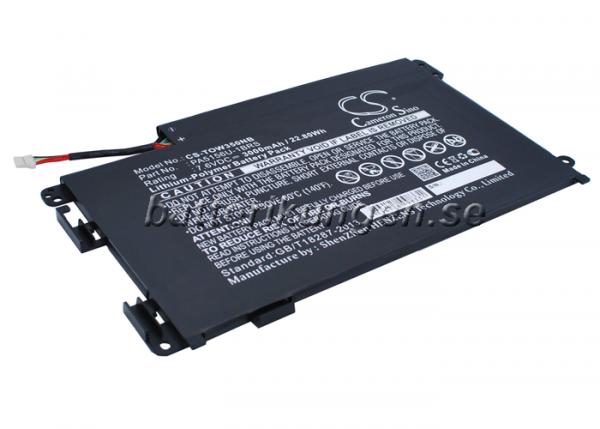 Batteri til Toshiba Satellite W35Click-A3300 mfl - 3.000 mAh