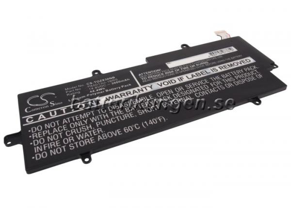 Batteri til Toshiba Portege Z830 mfl - 3.000 mAh