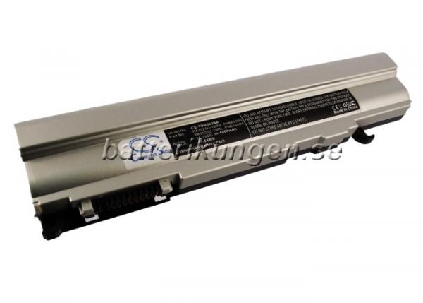 Batteri til Toshiba Portege R300 - 4.400 mAh