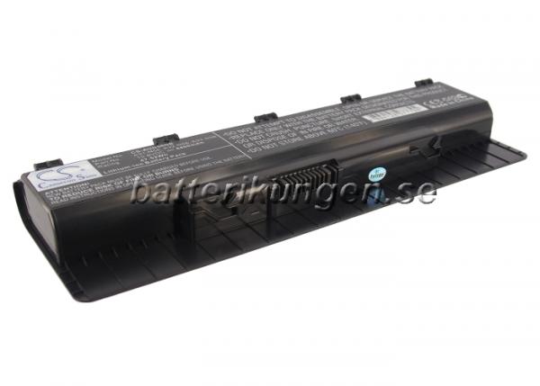 Batteri til Asus N46 mfl - 4.400 mAh