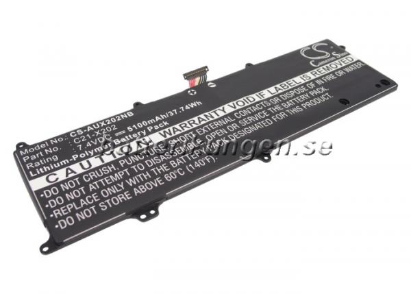 Batteri til Asus VivoBook S200 mfl - 5.130 mAh