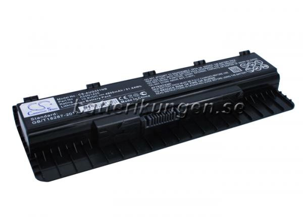 Batteri til Asus G551 mfl - 4.800 mAh