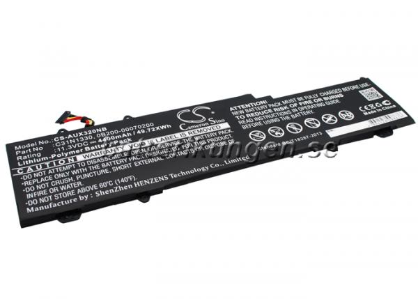 Batteri til Asus Zenbook UX32LN mfl - 4.400 mAh