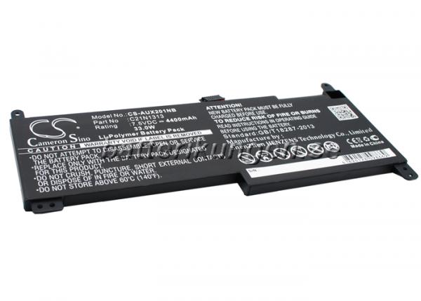 Batteri til Asus Transformer Book Trio TX201 mfl - 4.400 mAh