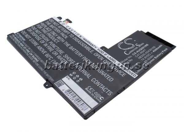 Batteri til Asus Q501L mfl - 4.500 mAh