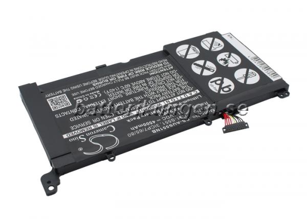 Batteri til Asus VivoBook S551L mfl - 4.500 mAh