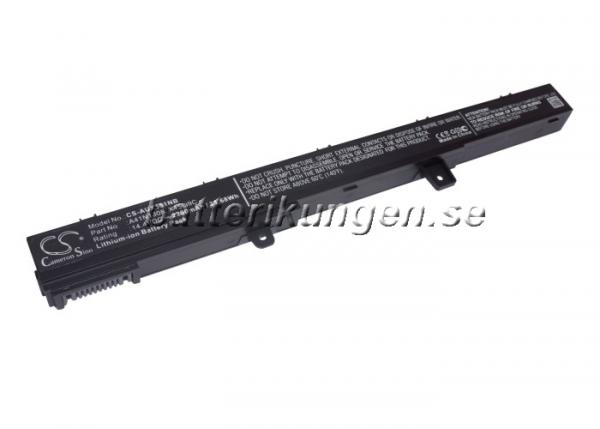 Batteri til Asus X551C mfl - 2.200 mAh