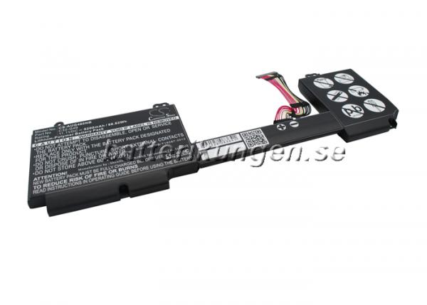 Batteri til Asus G46V mfl - 6.200 mAh