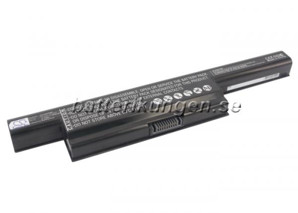 Batteri til Asus K93 mfl - 4.400 mAh