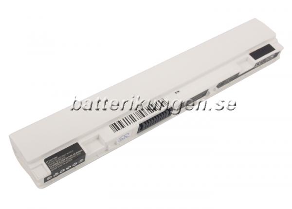 Batteri til Asus Eee PC X101 mfl - 2.200 mAh - Vitt