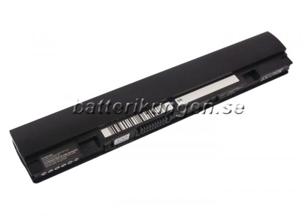 Batteri til Asus Eee PC X101 mfl - 2.200 mAh - Svart
