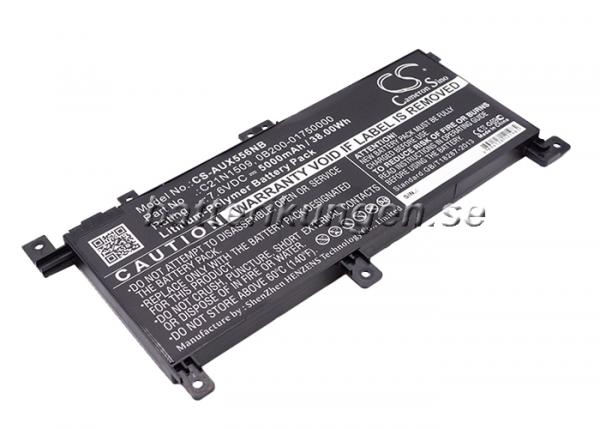Batteri til Asus X556UA mfl - 5.000 mAh