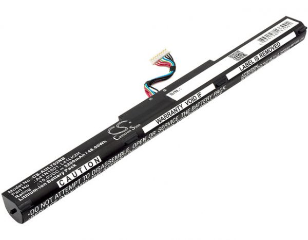 Batteri til Asus GL752JW mfl - 3.200 mAh