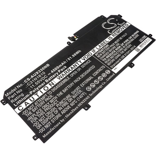 Batteri til Asus UX330 mfl - 4.500 mAh