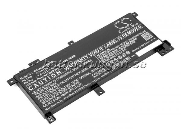 Batteri til Asus X456 mfl - 4.800 mAh