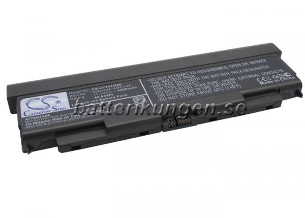 Batteri til Lenovo ThinkPad T440P mfl - 4.400 mAh