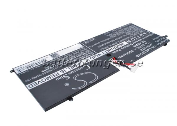 Batteri til Lenovo ThinkPad X1 Carbon 3444 mfl - 2.600 mAh